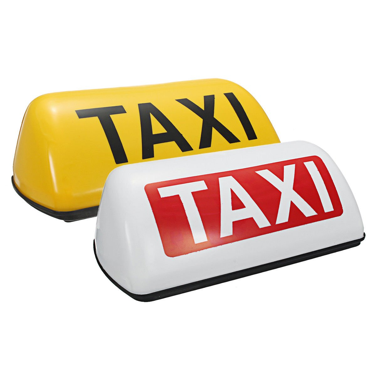 Waterproof Taxi Roof Top Sign Light Magnetic Taximeter Cab Halogen Lamp 12V