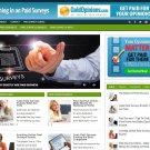 HOT Paid Surveys Blog for SALE! Established Turnkey Internet Business Website
