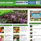 Vegetable Gardening Blog for SALE! Established Turnkey Internet Business Website