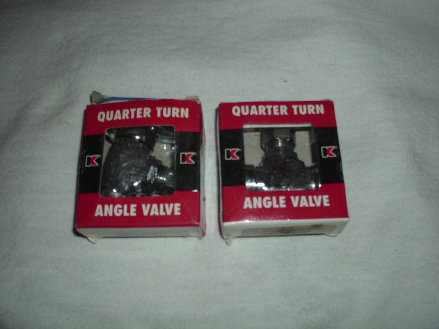 2 Keeney Manufacturing Co. Quarter Turn Angle Valves