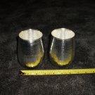 2 Silver Mikasa Cups