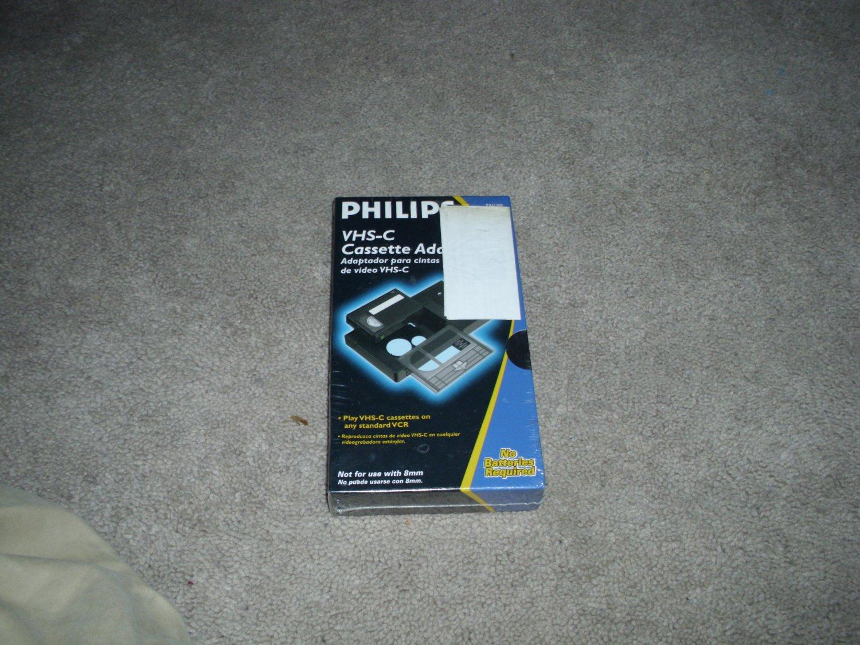 Philips VHS-C Cassette Adapter PH61300