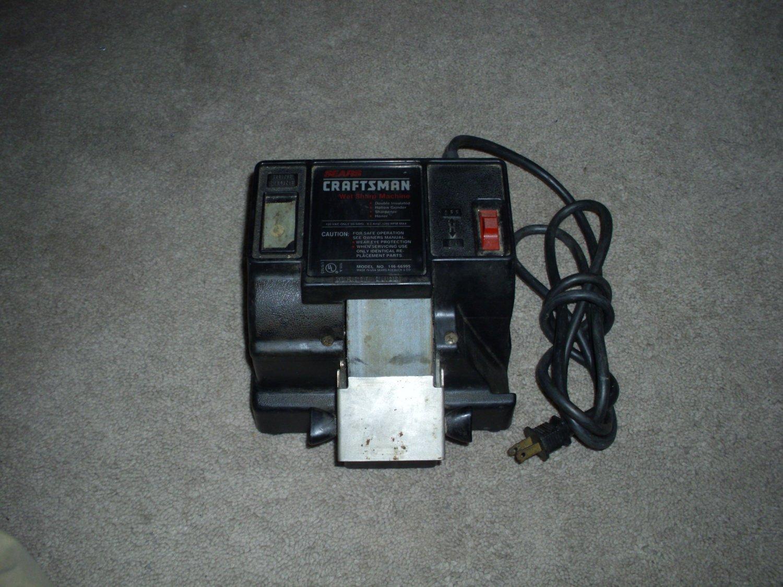 Craftsmen Wet Sharp Machine 146-66995