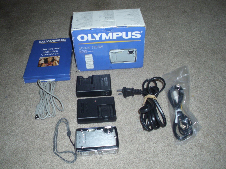Olympus Stylus 720 SW Digital Camera