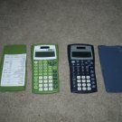 2 Texas Instruments TI-30X IIS Calculators