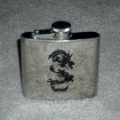 Stainless Steel Flask 5 OZ Dragon Design