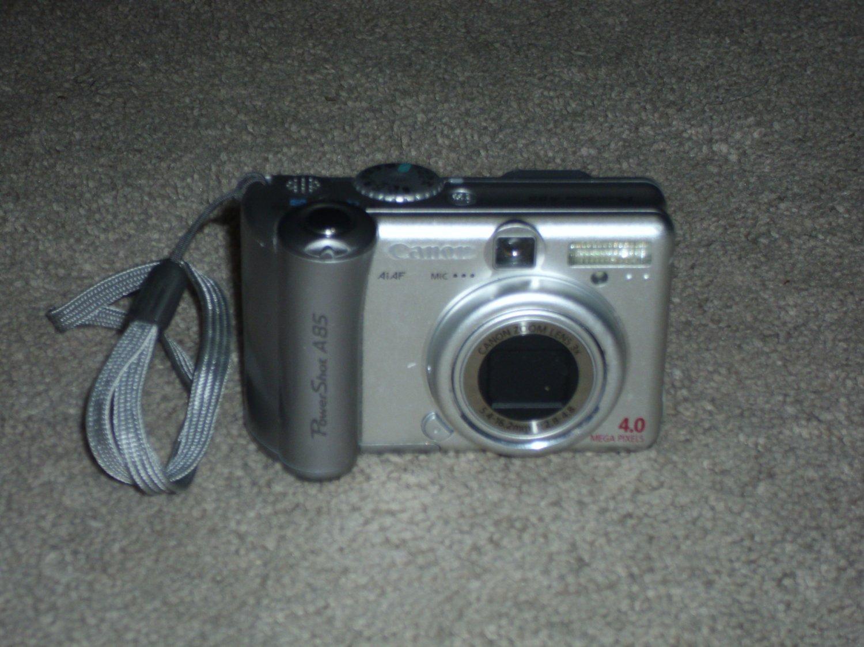 Canon PowerShot A85 Digital Camera 4.0 Mega Pixels