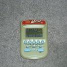 Milton Bradley Yahtzee Electronic Handheld Game Green
