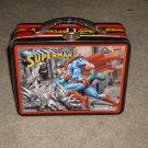 Vintage Super Man Metropolis Showdown Tin Lunch box