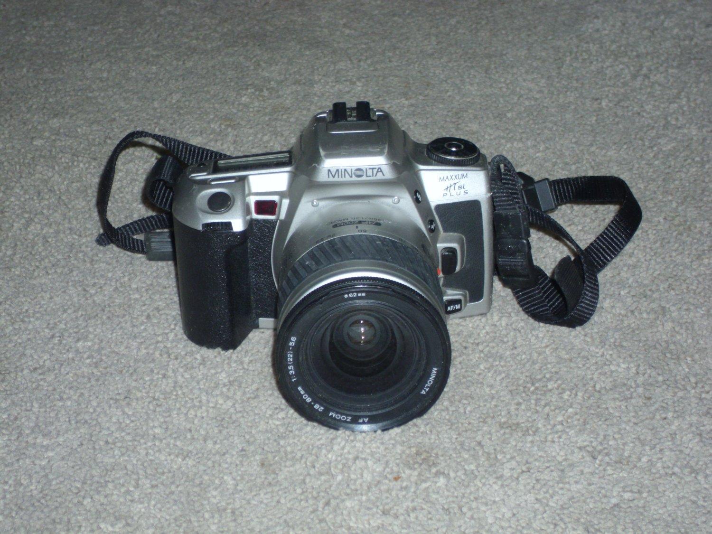 Minolta 35mm Film Camera HTSI Plus w/Lens