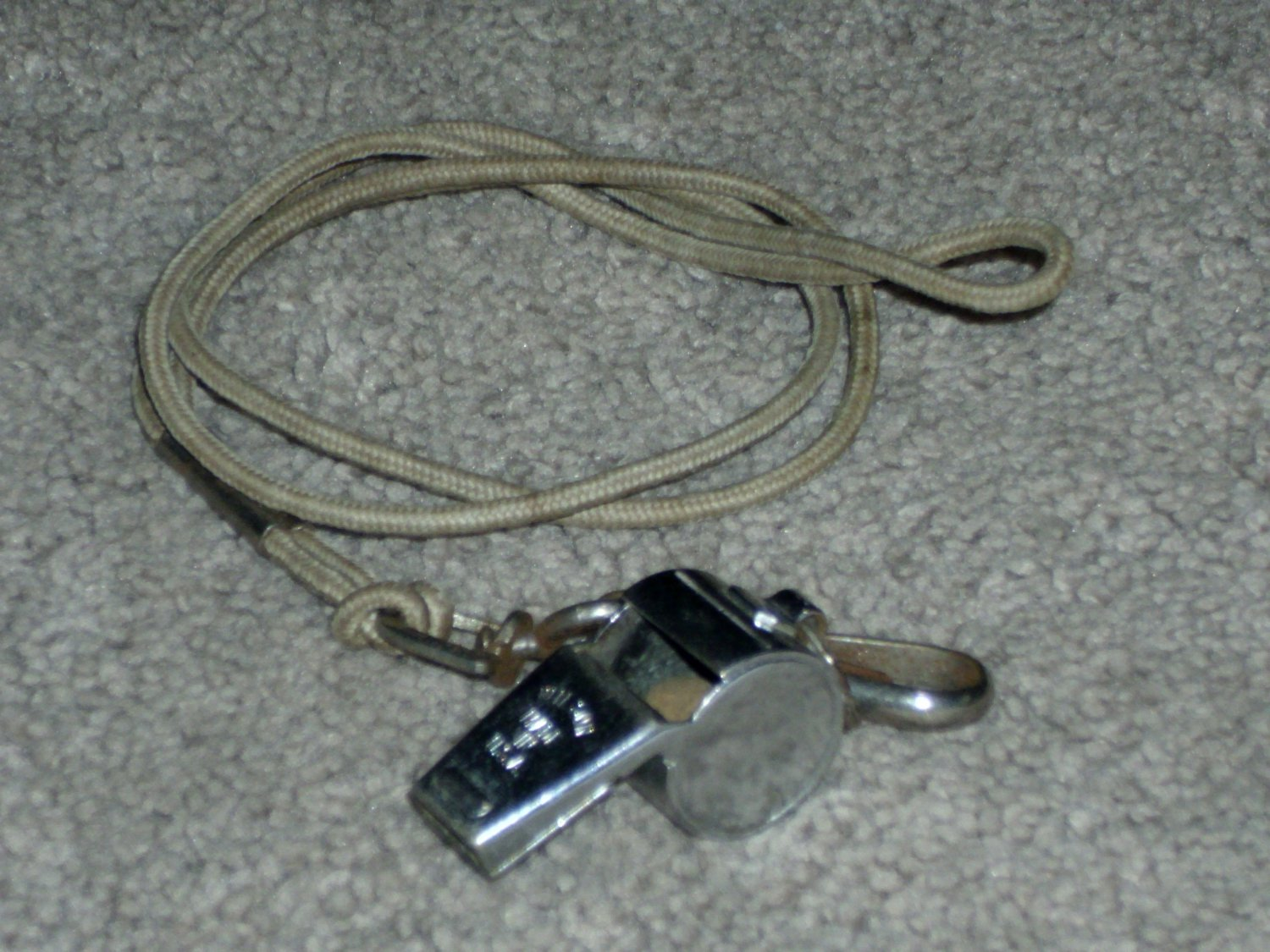 Vintage Metal Whistle Made In USA