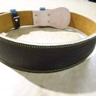Brown Weight Lifting Training for gym with back supoort leather support belt