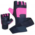 New Crawford Weight lifting   For Body Building And training in Gym Men leather Gloves