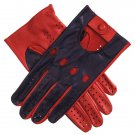 New Crawford Soft Two Tone leather Retro Style Men Driving premier Quality Gloves