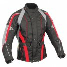 CRAWFORD MEN'S CORDURA WATERPROOF MOTORBIKE RACING  JACKET