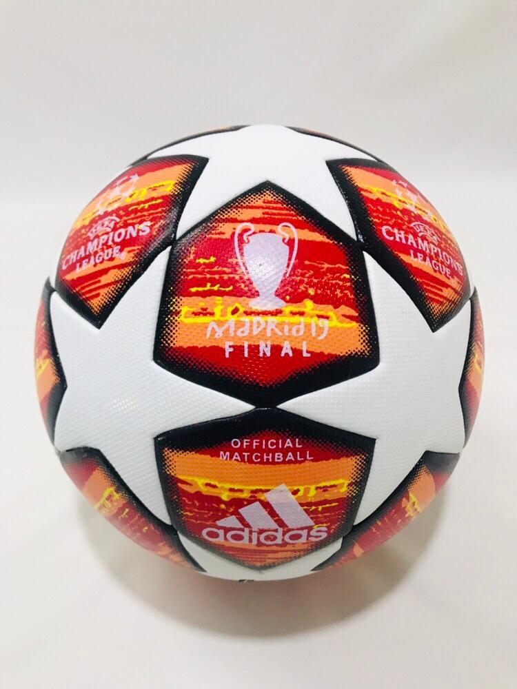 Adidas Final Madrid  UEFA Champion League Top Match Ball Size 5 Soccer Ball