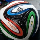 Adidas Brazuca FIFA World Cup 2014 Brasil Soccer Ball  Size 5