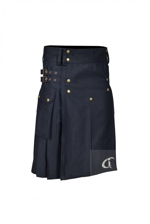 New  Scottish Formal Men Utility Delux Fashion Kilt With 100% cotton