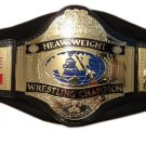 WWF WWE  World Heavyweight Champion Wrestling Belt With Leather Strap Adult Size