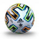New Adidas UEFA Championship  League Euro 2020 UNFORIA Green/Orange/Black/Blue  Match Soccer Ball