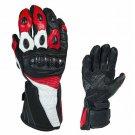 XXL Men Motorcycle Gloves Geniune Leather Warm Winter Cold Weather Full Finger Glove
