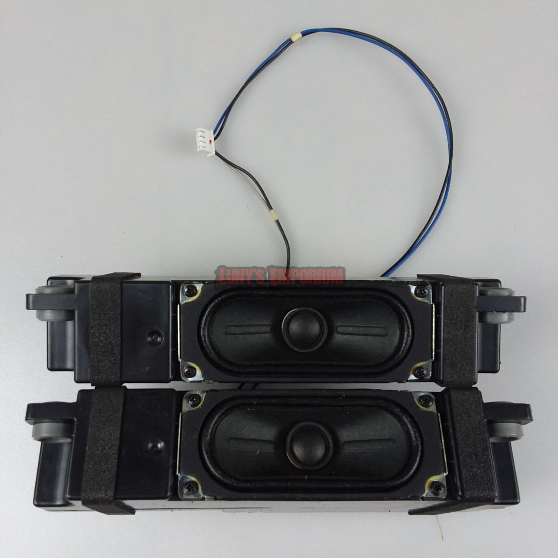 LG 32LN530B 32LN5300 Complete Left & Right Speaker Set EAB62831401.