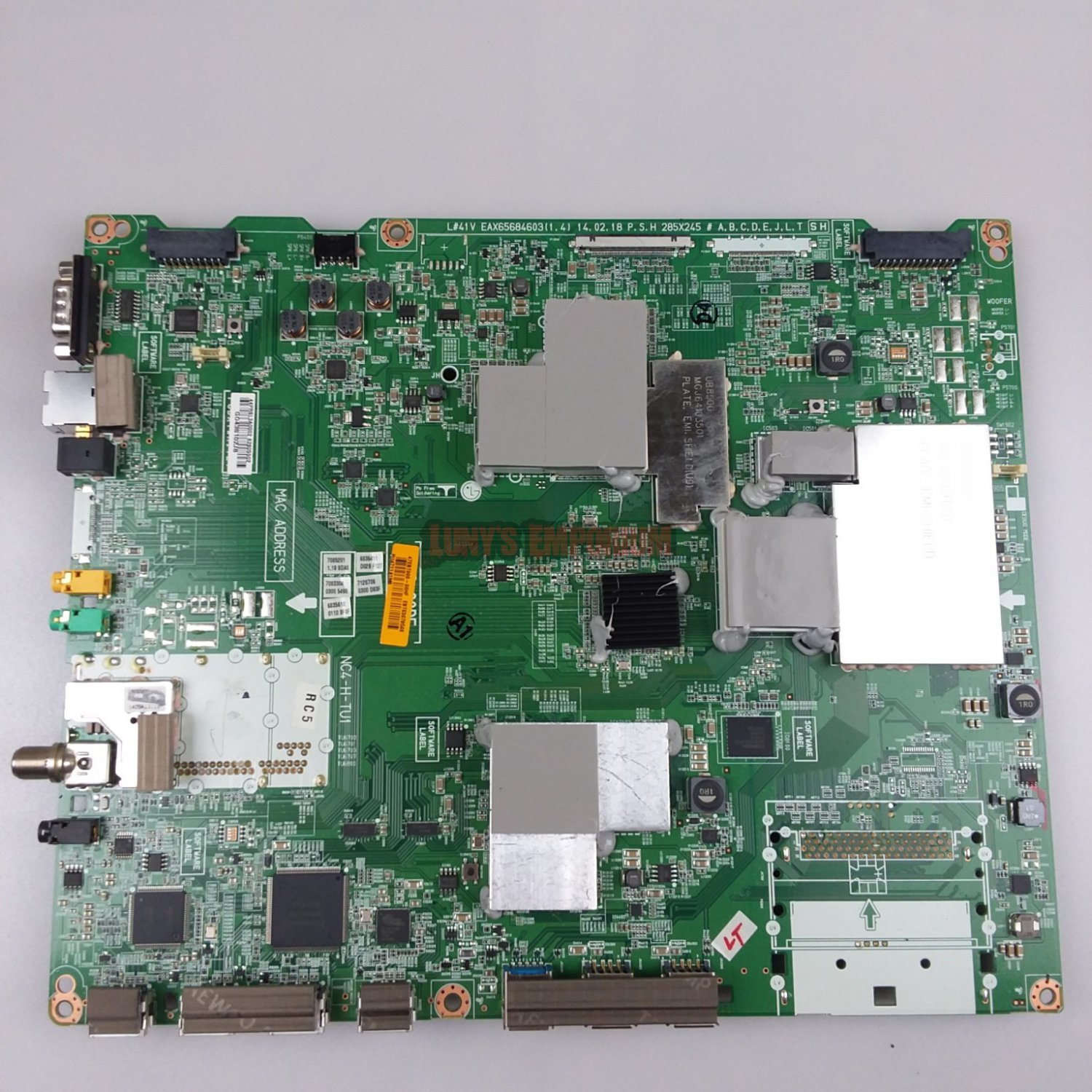 LG EBT63078506 Main Board for 49UB8500-UA