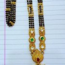 22KT GOLD NECKLACE PENDANT MANGALSUTRA NECKLACE HANDMADE TRADITIONAL JEWELRY