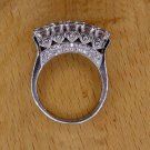 925 SILVER FABULOUS WEDDING RING WITH FABULOUS CUBIC ZIRCON MEN'S BAND SR12