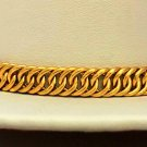 YELLOW GOLD BRACELET SELECT LENGTH AND KARAT HANDMADE INDIAN JEWELRY MEN WOMEN