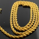 916 AUTHENTIC 22Karat YELLOW  GOLD ROPE CHAIN DESIGN MODERN NECKLACE GIFTING