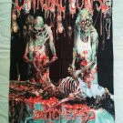 CANNIBAL CORPSE - Butchered at birth FLAG Heavy thrash death METAL cloth poster
