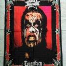 KING DIAMOND - Conspiracy FLAG Heavy METAL cloth poster Mercyful Fate