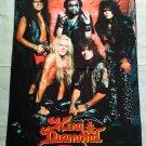 KING DIAMOND - Band FLAG Heavy thrash death METAL cloth poster
