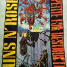 GUNS N ROSES - Appetite for Destruction old cover FLAG Heavy METAL cloth poster
