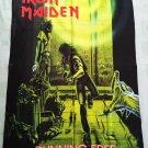 IRON MAIDEN - Running Free FLAG Heavy thrash death METAL cloth poster