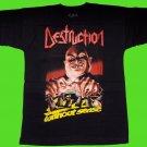 DESTRUCTION - Live without sense T-SHIRT (S) NEW heavy thrash death metal