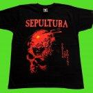 SEPULTURA - Beneath the remains T-shirt Black (S) NEW heavy thrash death metal