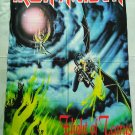 IRON MAIDEN - Flight of Icarus FLAG Heavy thrash death METAL cloth poster