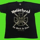 MOTORHEAD - The world is yours T-shirt Black (S) NEW heavy thrash death metal