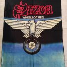 SAXON - Wheels of steel FLAG Heavy thrash death METAL cloth poster