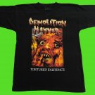 DEMOLITION HAMMER - Tortured Existence T-shirt Black (L) NEW heavy thrash death metal