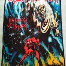 IRON MAIDEN - The number of the beast FLAG Heavy thrash death METAL cloth poster
