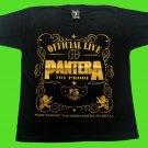 PANTERA - Official Live T-shirt Black (S) NEW heavy thrash death metal