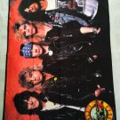 GUNS N ROSES - Band Photo 1987 FLAG Heavy thrash death METAL cloth poster