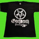 GORGOROTH - Pentagram T-SHIRT Black (L) NEW heavy thrash death metal