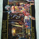 IRON MAIDEN - Somewhere in time FLAG Heavy thrash death METAL cloth poster