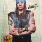 GUNS N ROSES - Axl Rose FLAG Heavy thrash death METAL cloth poster