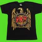 SLAYER - Decade of aggression. Gold eagle T-SHIRT Black (S) NEW heavy thrash death metal