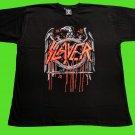 SLAYER - Decade of aggression. Gold eagle T-shirt Black (L) NEW heavy thrash death metal